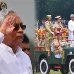 cm nitish hoisted flag at gandhi maidan