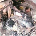 dalit man burnt alive by girl family