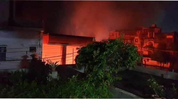 Petrol Tank Blasted in Patna