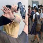 Headmaster beaten in school