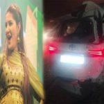 Sapna chaudhary car accident