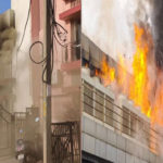 fire in a paying guest in chandigarh