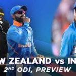 india vs new zealand 2nd odi