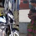 Dead body carrying on bike in Jharkhand