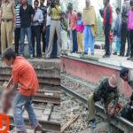 dead body found mandawali railway station