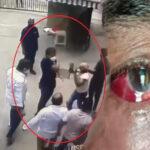 beating of retired navy officer