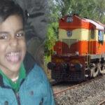 child dies in train accident